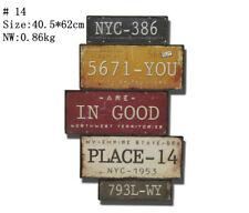 Vintage Tin Metal Signs Painting Wall Decor MAN CAVE Hanging