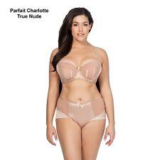 Parfait Charlotte Satin Padded Bra 6901 True Nude Cups C-H Bands 30-44