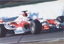 Jarno Trulli Toyota Formula One F1 SIGNED AUTOGRAPH 12x8 UACC AFTAL Founders