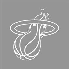 Miami Heat #2 NBA Team Logo 1Color Vinyl Decal Sticker Car Window Wall