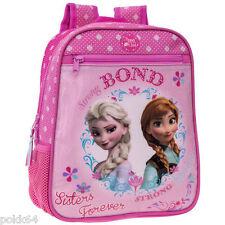La Reine des neiges sac à dos Elsa et Anna Bond cartable S crèche 28 cm 263316-