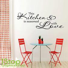 ESTE Cocina Es Experto Frase En Una Calcamonía Mural - Hogar Adhesivo X237
