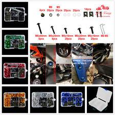 Complete Fairing Bolt Screws Kit Fit For Kawasaki Ninja 300 250 ZX6R 7R 9R 12R