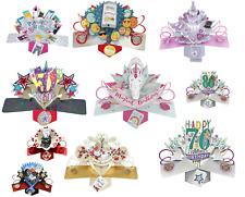 Tarjetas De Pop Up ~ Cumpleaños, aniversario, boda ~ Hermosa tarjeta para todas las ocasiones
