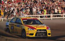 Rally Driver Jarkko Nikara Signed Photo Exact Proof.