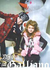PUBLICITE 2012   JOHN GALLIANO collection hiver Junior 2012/2013