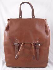Orla Kiely Stem Punched Leather Bridget Bag Chestnut