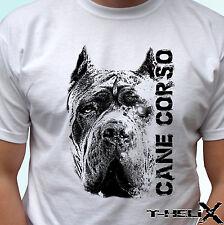 Cane Corso Cabeza-Perro T camisa Top Camiseta de diseño-Para Hombre Para Mujer Niños Bebé Tamaños
