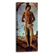 Botticelli san Sebastiano design quadro stampa tela dipinto telaio arredo casa