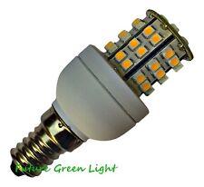 E14 48 SMD LED 240V 3.5W WHITE (240LM) / WARM WHITE (210LM) BULB ~45W