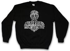 THOR´S HAMMER II SWEATSHIRT PULLOVER SWEATER - Mjölnr Odin Loki Midgard Mjölnir