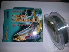 TUBERTINI TROTA TREMARELLA COMPETITION -  MONOFIL0 100mt