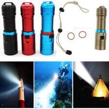 Aluminum Diving Underwater XM-L2 LED Fill Light 1000 Lumen Flashlight Torch