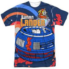 Atari Lunar Lander Gamer Allover Sublimation Licensed Adult T Shirt
