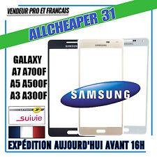 VITRE ÉCRAN TACTILE SAMSUNG GALAXY A7 A700F A5 A500F A3 A300F Noir Blanc Or