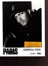 paris limited edition press kit