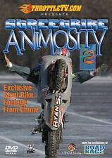 STREETBIKE Animosity 2 Stunt Riding ThrottleTV.com Extreme Streetbikes DVD NEW