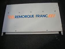 AUTOCOLLANT DE PORTE ARRIERE  REMORQUE FRANC OCEAN
