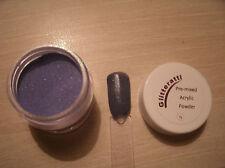 Glitteratti 16 Purple Pearl Glitter Pre-Mixed Acrylic Powder OPI NSI Nail Art
