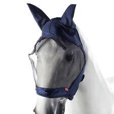 Horze Cayman Full Coverage Velcro Closure Fleece Lining Elastic Fit Fly Mask