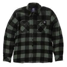Dickies - Sacramento Cheque camisa-grava Gris Camisa De Trabajo Hombre