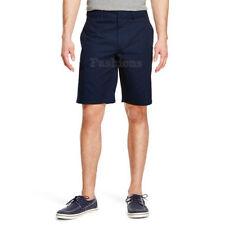 Mens Mossimo Flat Front Blue Slim Zip Pocket Shorts NWOT C531