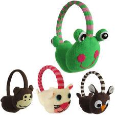 Sonia Originelli Ohrenwärmer Kinder Ohrenschützer Tiermotiv Eule Frosch Affe K .