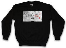 VU VOLUME UNITS METER II PULLOVER Decibel Music Bass Tape Record Vinyl Stereo