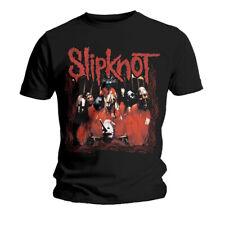 Slipknot Group Shot Corey Taylor Joey Jordison Official Tee T-Shirt Mens Unisex