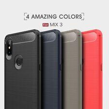 Housse etui coque silicone gel carbone pour Xiaomi Mi Mix 3 + film ecran