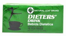 Dieters Drink Tea Bebida Dietetica Natural Leaf Brand 1-36 Tea Bags Slimming EU