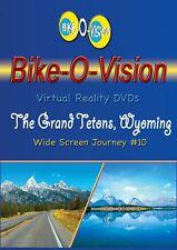 "Bike-O-Vision Cycling Video, ""The Grand Tetons, Wyoming"" Widescreen"