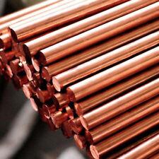 T2 Red Copper Round Rod Bar Solid Lathe Bar Cutting Tool Metal Dia 3-14MM AU