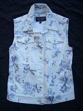 ARMANI Jeans modische Weste in weiß Gr. D36,F38,I40**NEU