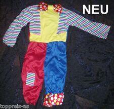 Costume Arlecchino CLOWN 116 122 Carnevale di da Bambini