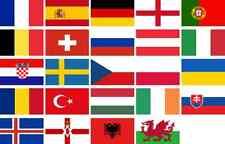 2016 UEFA Euro European Champion Flags 5x3 Single or Bundle + Bunting Football