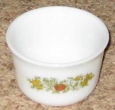 "Pyrex #28 White Floral 4"" Nesting Refrigerator Bowl"