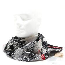 7246N sciarpa GEMMA.H UOMO nero rosso sciarpe uomo scarf men