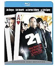 21 (Blu-ray Disc, 2008) Like New