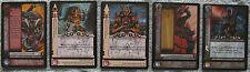 Dark Millennium Warhammer 40K CCG Hope's Twilight Ultra Rare Cards (WH40k)