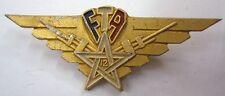 12° Groupe de FTA Artillerie MAROC LIBERATION insigne 1945 Alu WWII