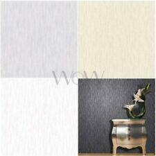 VYMURA SYNERGY PANACHE PLAIN GLITTER WALLPAPER - WHITE, CREAM, BLACK, GOLD, GREY
