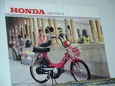 1981 Honda PA50 II Moped Motorcycle Sales Brochure - Literature