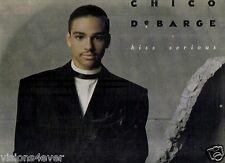 1987* MOTOWN* CHICO DeBARGE*  KISS SERIOUS LP*EXCELLENT* RARE