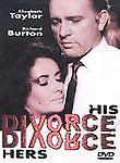 Divorce His, Divorce Hers (DVD, 2002) new