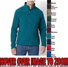 High Quality Mens CoreValue Polar Fleece Jacket Full Zip S - 2X 3X 4X 5X 6X NEW!