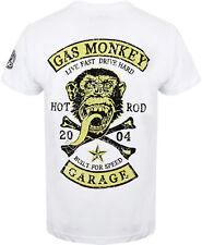 Gas monkey garage t-shirt Patch White