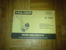 Original BAL Holder H 100