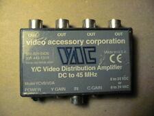 VAC  S-VIDEO  Y/C 4 CH. DISTRUBITION AMPLIFIER DCTO 45 MHZ