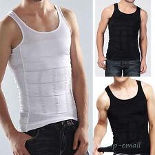 Men Body Slimming Tummy Shaper Belt Underwear shapewear Waist Girdle Shirt Vest